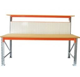 High Back with Louvre Panel Backboard