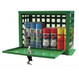 12 Can Aerosol Storage Cabinet