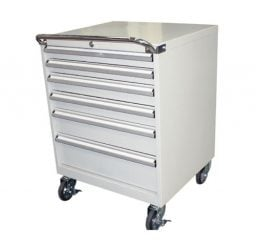 6 Drawer Mobile Tool Cabinet – 725mm Wide