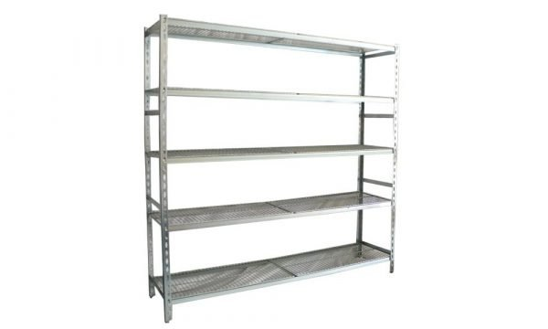 5 shelf cool room shelving