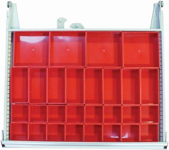6 Drawer Mobile Tool Cabinet – 725mm Wide | Industrial Tool Cabinet Workstation