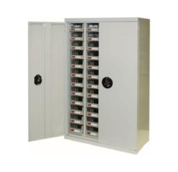 48 Bin Drawer Cabinet With Doors