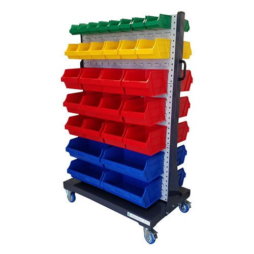 60 Bin Louvre Panel Trolley |