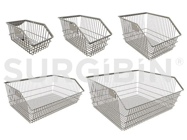 SURGIBIN<sup>®</sup> Chrome Wire Baskets |
