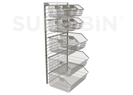 SURGIBIN® | stackable wire baskets