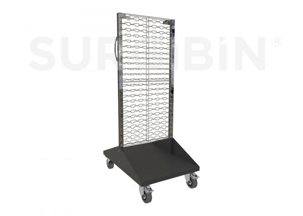 SURGIBIN<sup>®</sup> WIRE PANEL TROLLEY |