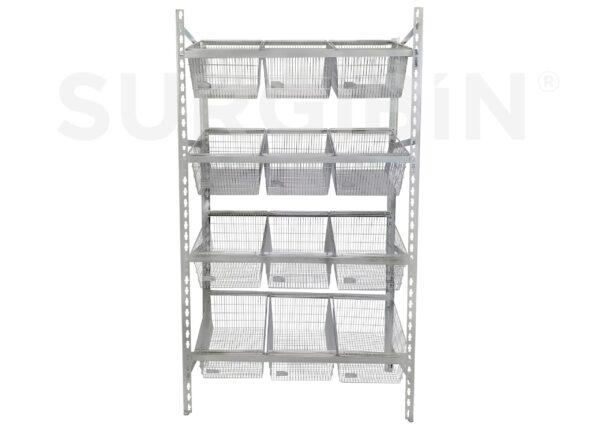 Healthcare Bulk Storage Rack  