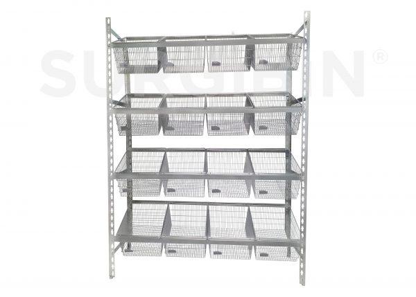 Healthcare Bulk Storage Rack |