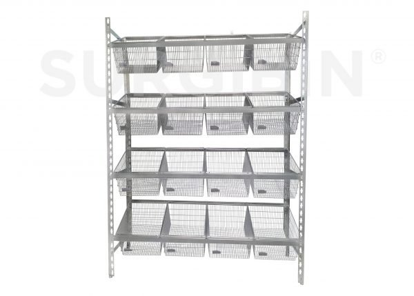 Healthcare Bulk Storage Rack |
